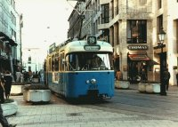 Trams banner (Munich Tram)